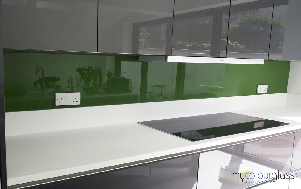 Glass splashbacks are an alternative to tiles granite paint or quotes - Splashback alternatives ...