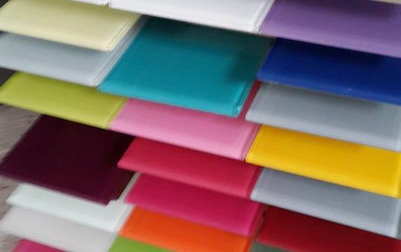 Glass Colour Samples