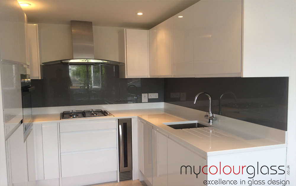 Kitchen Glass Splashbacks in UK at MyColourGlass