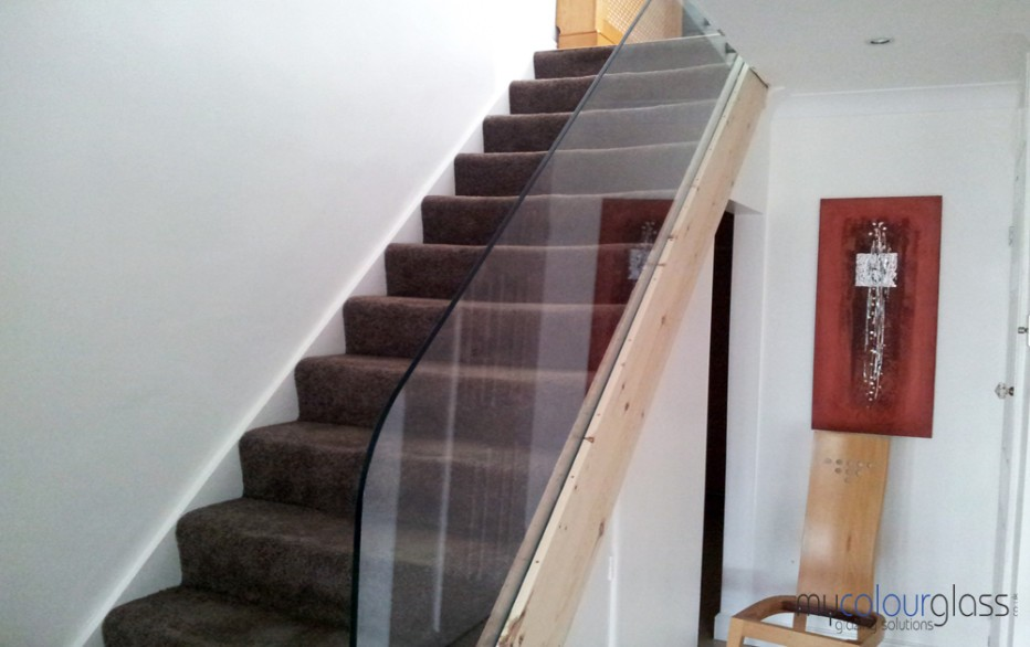 12mm Glass Balustrade CNC