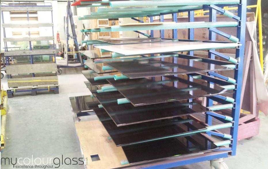 Glass drying rack