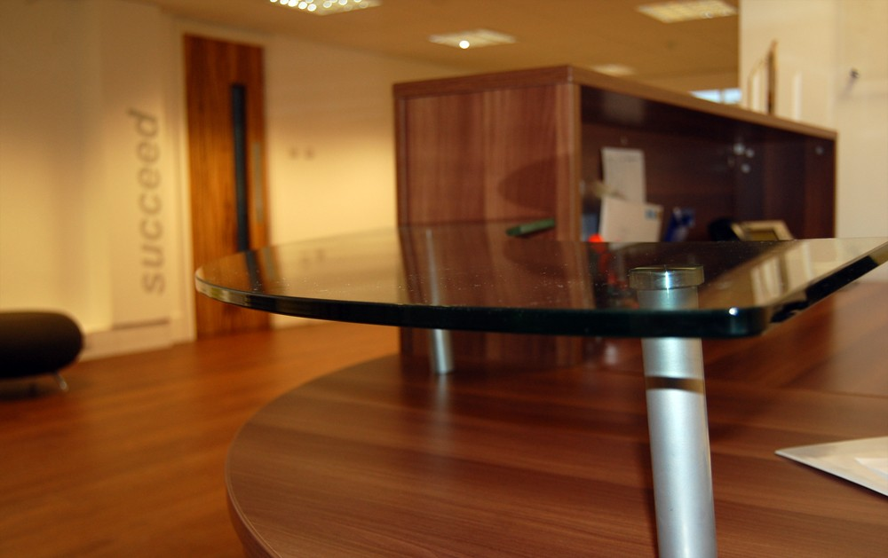 CNC Desk Glass