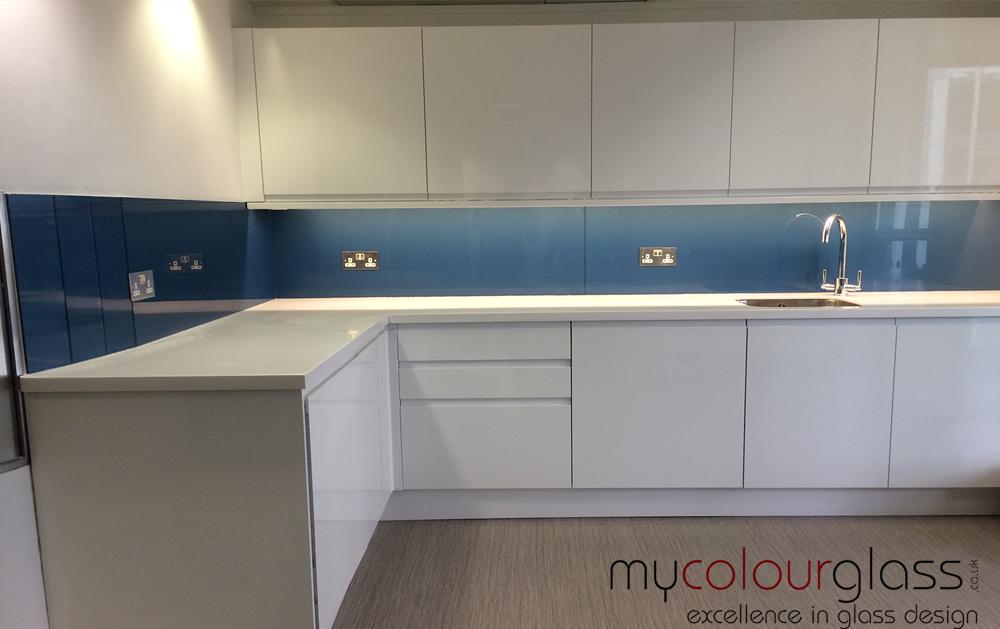 Blue kitchens splashback - Kitchen Ideas
