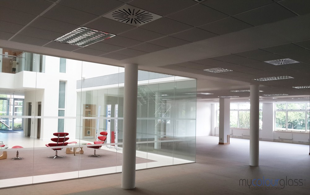 Glass partitions commercial and residential projects in for Office design regulations uk