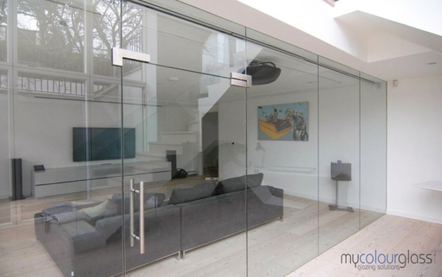 home glass partition