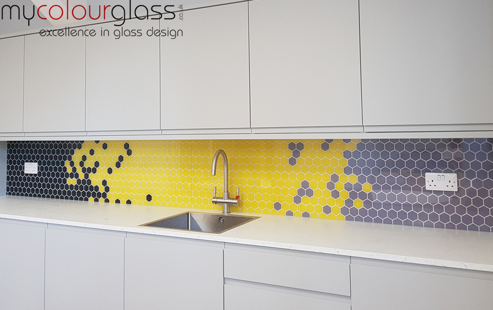 Print on Glass Splashback