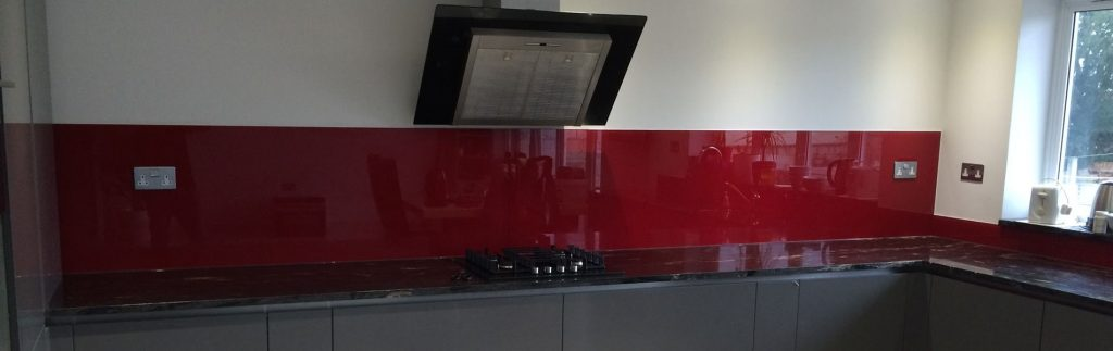 Coloured Kitchen Glass Splashbacks