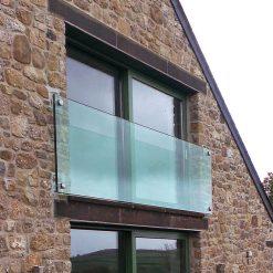 Juliet balcony glass