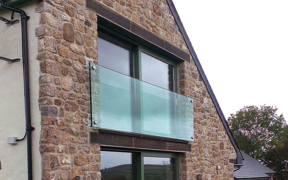 Glass Juliet Balcony Toughened Glass Balconies In The Uk