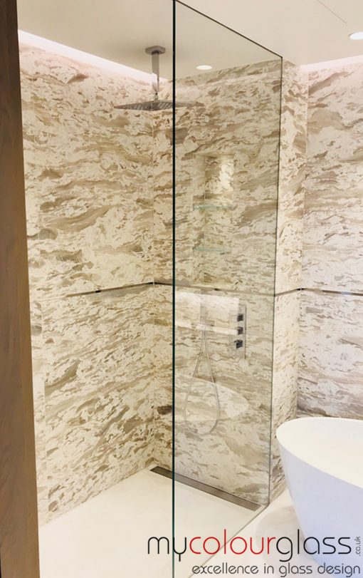 showe screen bath bathroom glass
