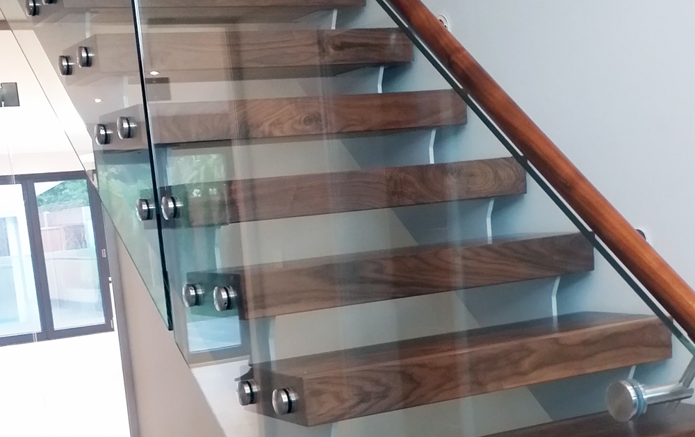 glass balustrade internal