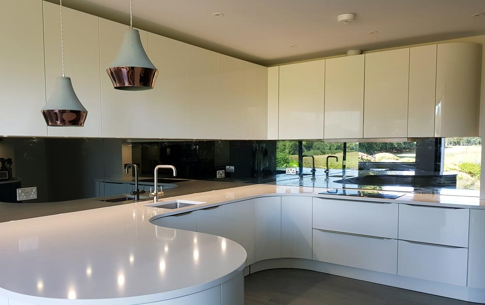 Glass Splashbacks Amp Worktops For Kitchens Glass Worktops Uk