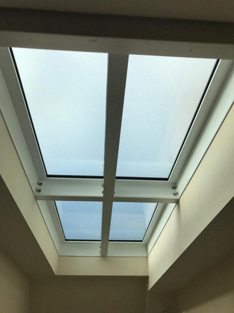 walk on glass rooflight