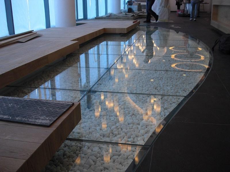anti-slip glass
