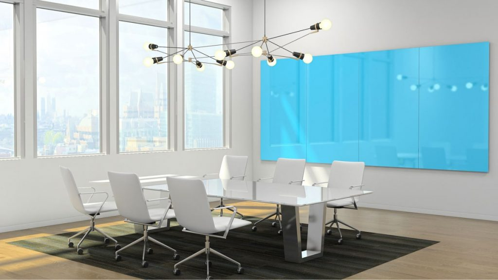 Image of Glass Boards in a Conference Room