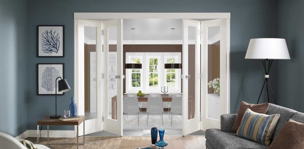 Living Room Glass Doors Image