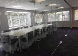 Conference Room Glass Partitions
